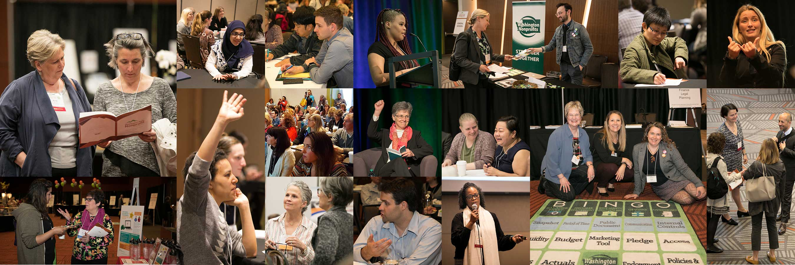 Attendees from the Washington State Nonprofit Conference